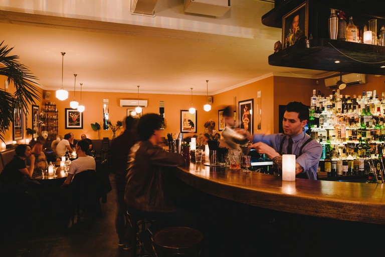 Lily Blacks welcomes visitors with friendly staff, Art Deco furnishings and delicious drinks