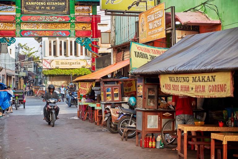 Ketandan Wetan street, Yogyakarta, Java