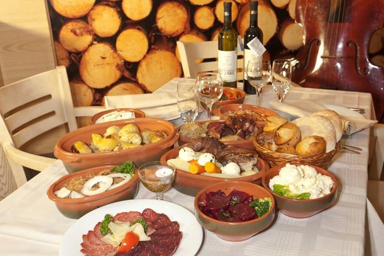 Traditional fare at Naša Kuća
