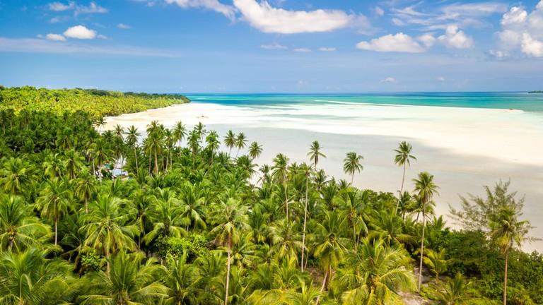 Ohoidertawun beach, Kei Kecil island, Maluku, Indonesia.