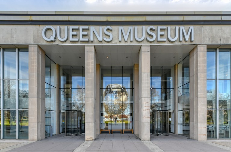 Queens Art Museum in Fushing Meadows Corona Park, Queens, New York