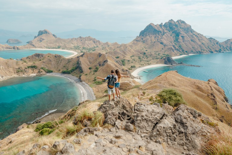 Pulau Padar viewpoint, Indonesia