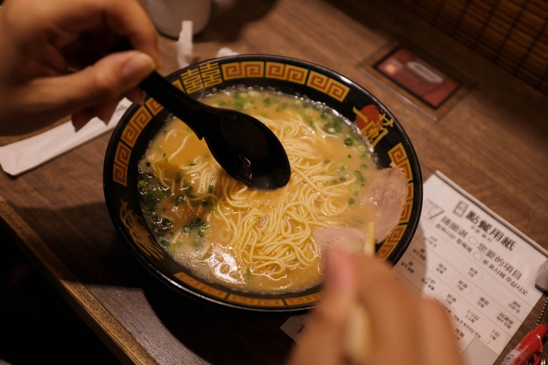 Ramen at Ichiran