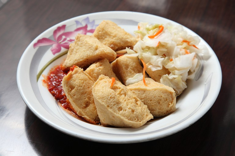 Stinky tofu
