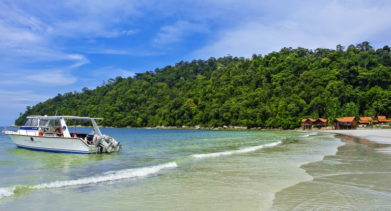 Pangkor Island Beach, Malaysia.