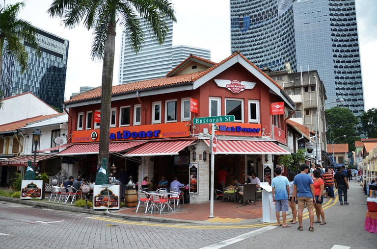 Arab Quarter is the oldest historic shopping district of Singapore, is popular for visiting tourists