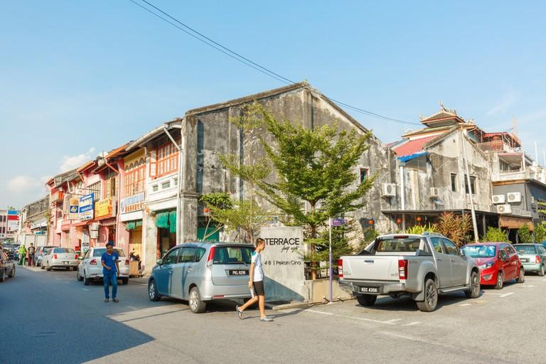 Restaurants and coffee shops located in Alor Setar city, Kedah, Malaysia.