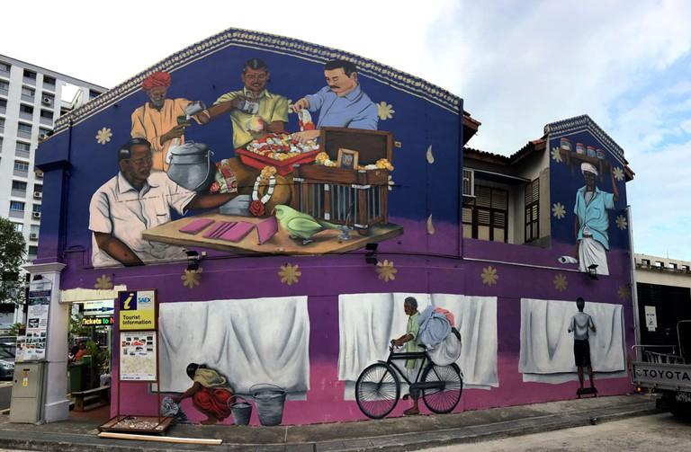 Psyfool Street Art Little India
