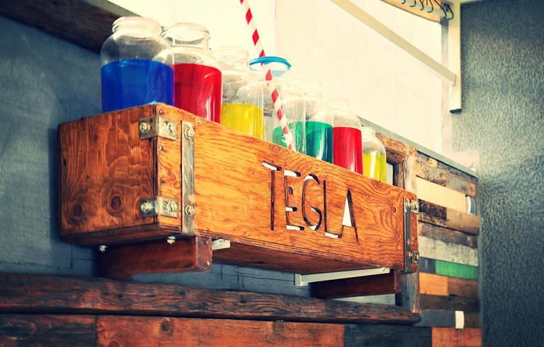 Colour abounds at Vračar's Tegla Bar