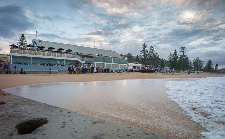 The Beach Club Collaroy on Anzac Day © The Beach Club Collaroy / Javier Baladron