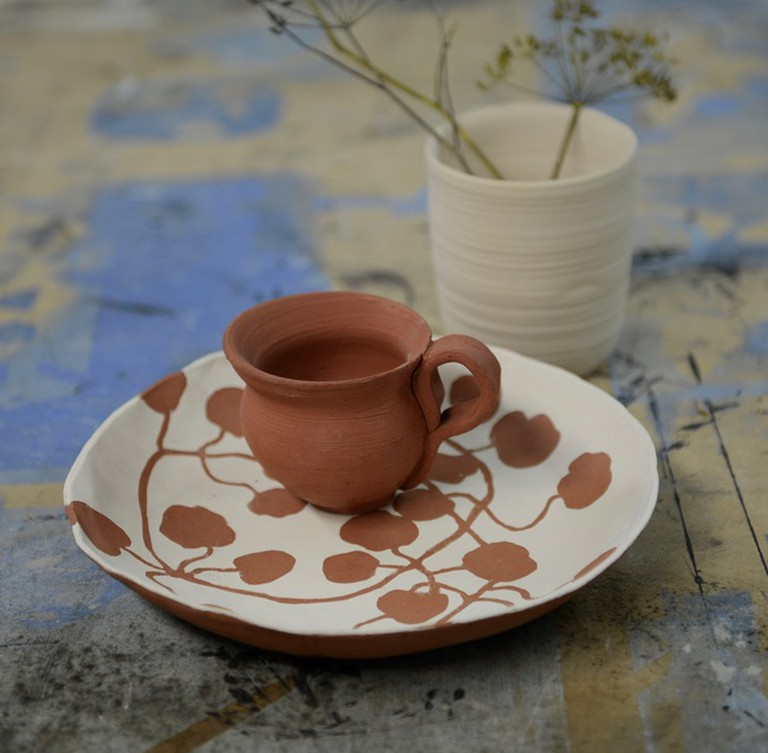 Pottery from a class at Kite Studios