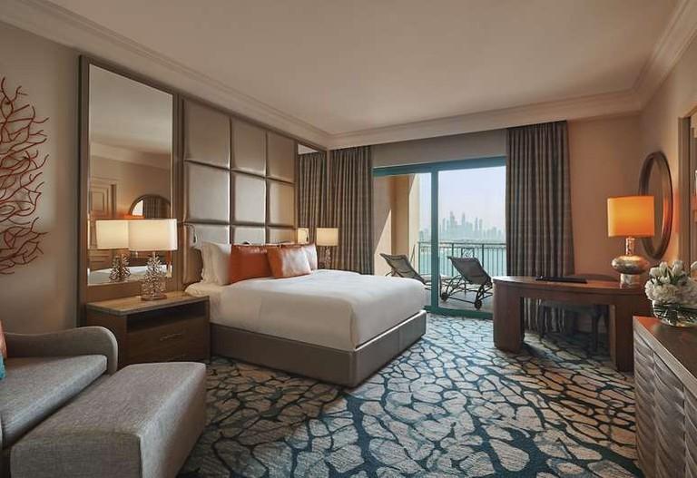 Terrace club suite at Atlantis The Palm