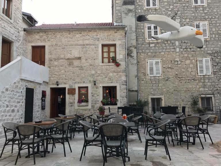 Glorious tranquillity at Pržun Pub in Kotor, Montenegro
