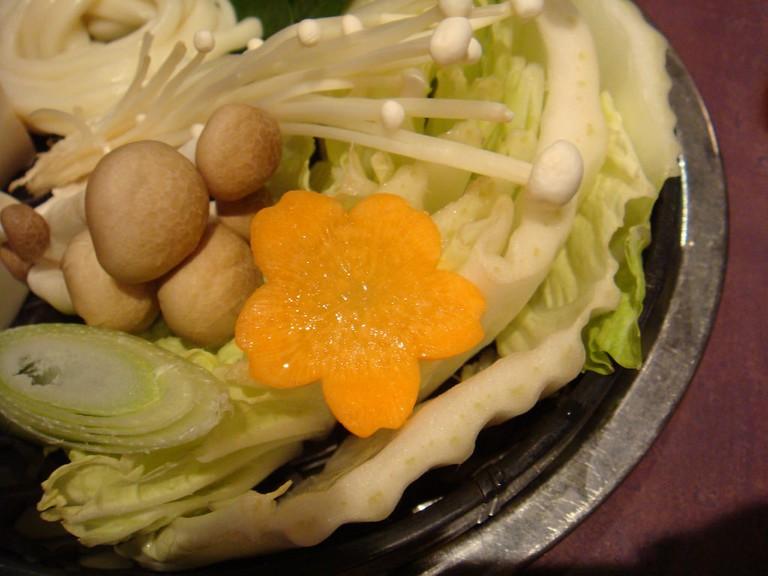 Vegetarian shabu