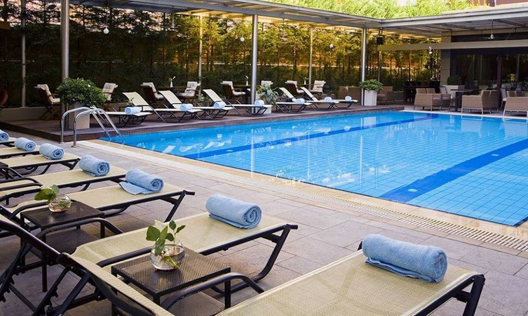 Lazart Hotel outdoor pool