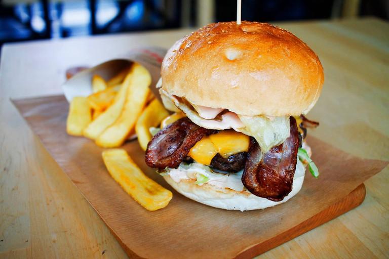 The 'Sopot' at Burger Stacja | © Burger Stacja