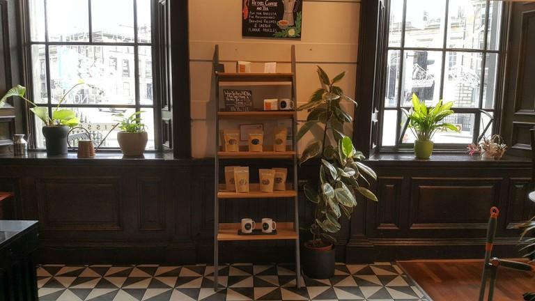 Café Noir in Edinburgh