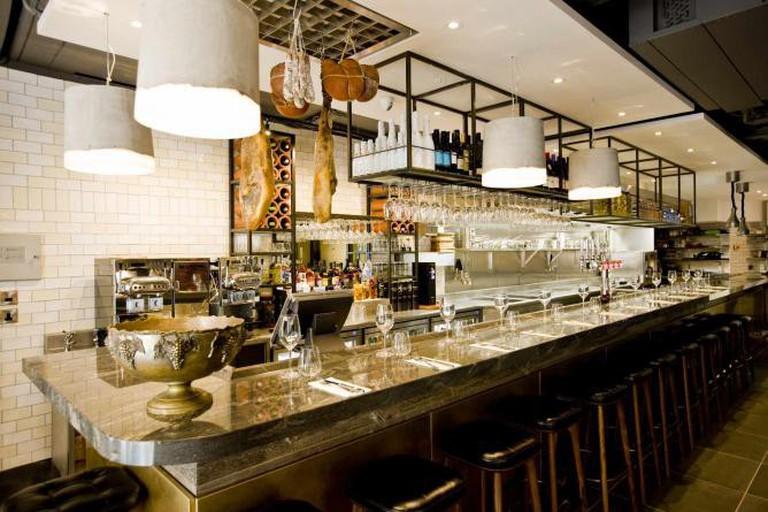 José Pizarro is a Spanish restaurant in the Broadgate Circle development