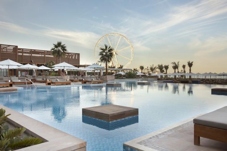 The Azure beach pool at Rixos JBR