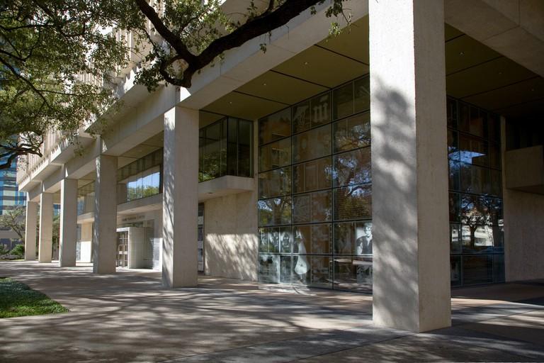 The Harry Ransom Center in Austin, Texas, USA.