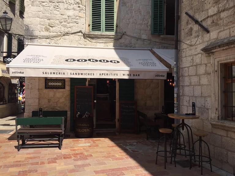 Welcome to Bokun Wine Bar in Kotor, Montenegro