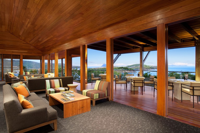 Scenic views from the Clubhouse at Hamilton Island Golf Club