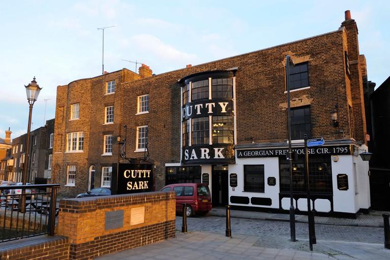 The Cutty Sark tavern, Greenwich