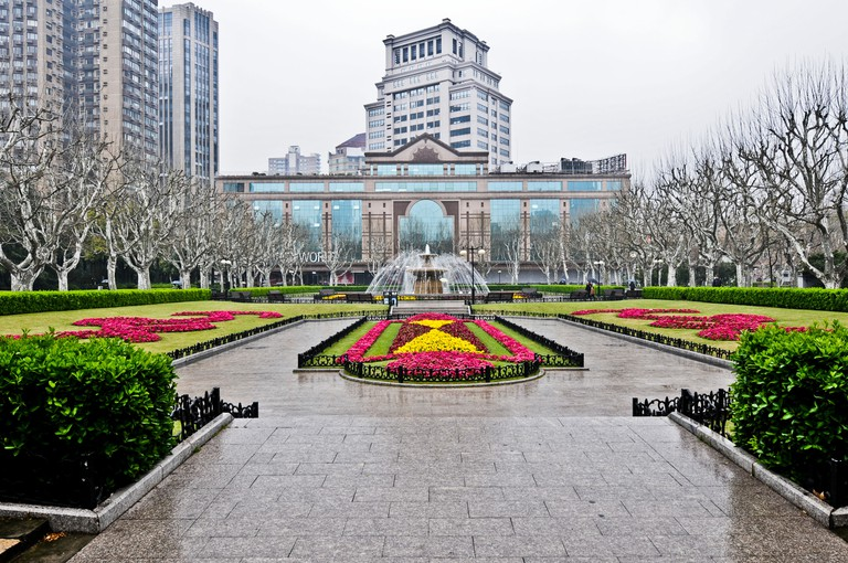 Fuxing Park opened to the public in 1909