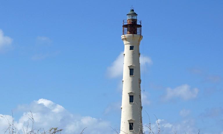 California Lighthouse, landmark of Aruba.