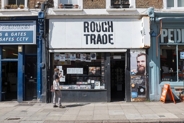 Rough Trade West Record Shop Notting Hill London
