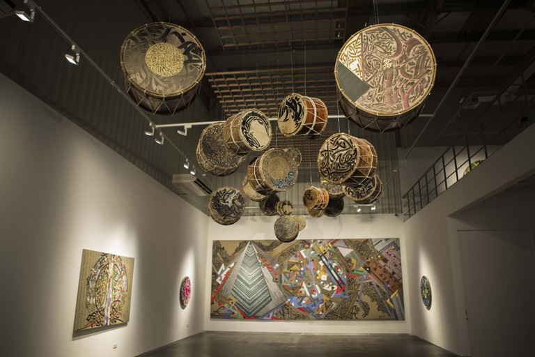 Artwork on display at Elmarsa