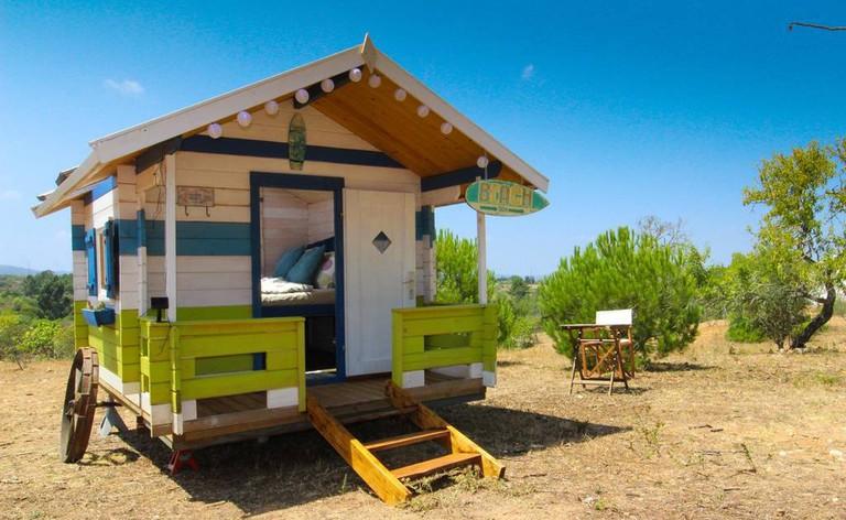 Beach Hut for star gazing