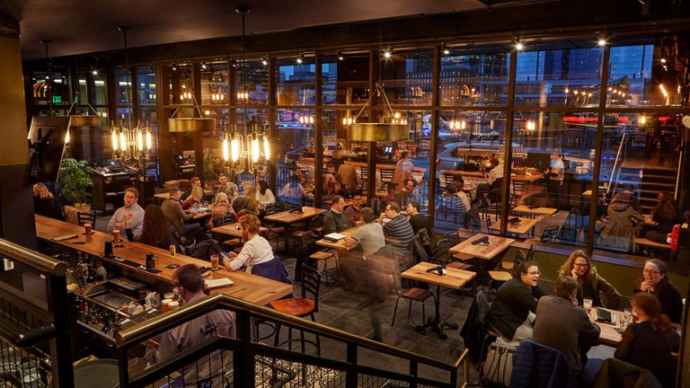 Hopsters Brewing Company Beer Hall