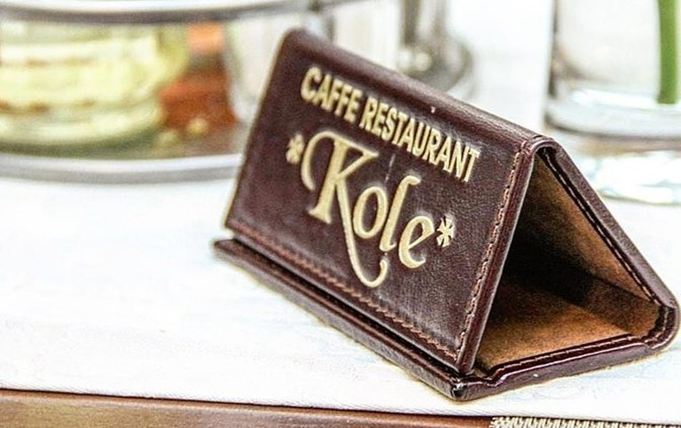 Kole is one of the most popular restaurants in Cetinje, Montenegro