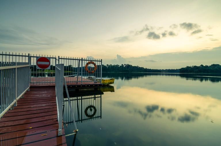 Lower Pierce Reservoir in Singapore.