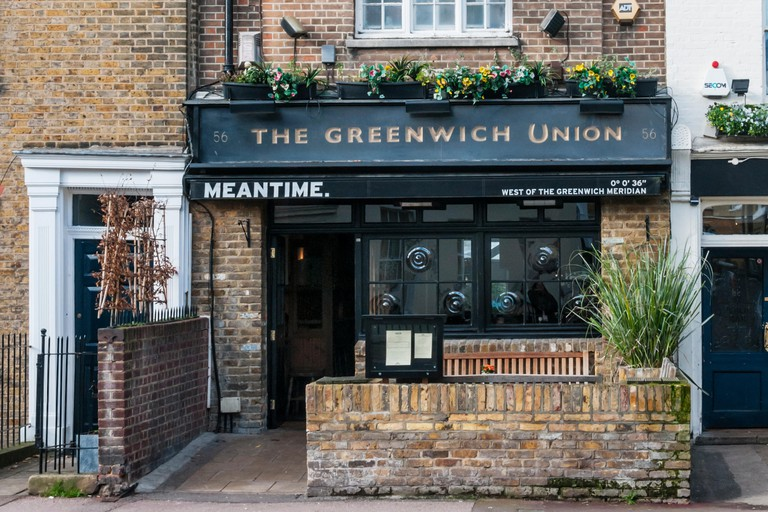 The Greenwich Union is the first pub of the Meantime Brewery.