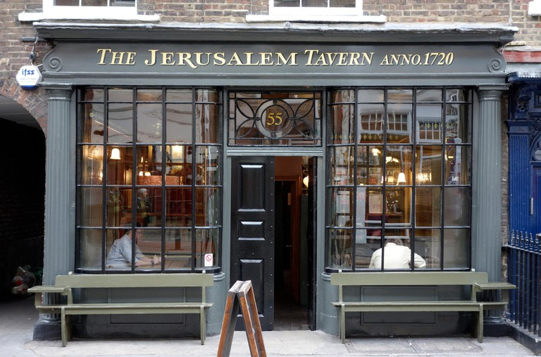 The Jerusalem Tavern, London