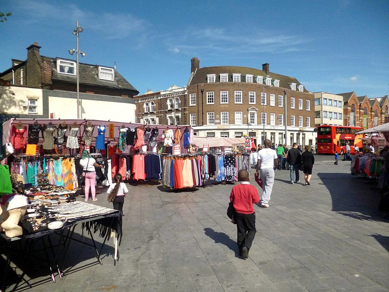Market in Barking