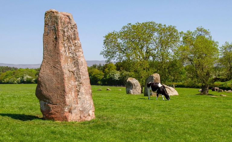 Long Meg and Her Daughters stone circle