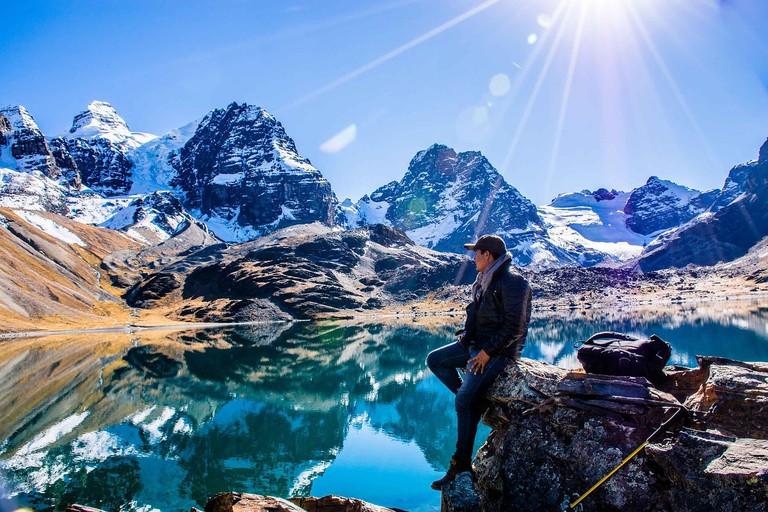 Tuni Cordoriri pico austria hiking bolivia