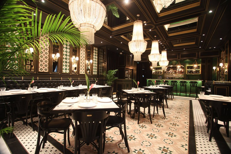 The main dining area of National Kitchen by Violet Oon in Singapore