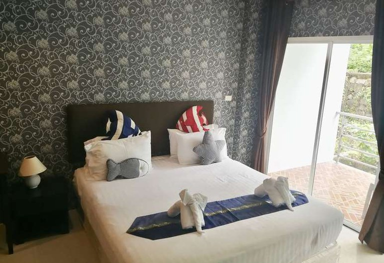 Room at Only Blue Hotel
