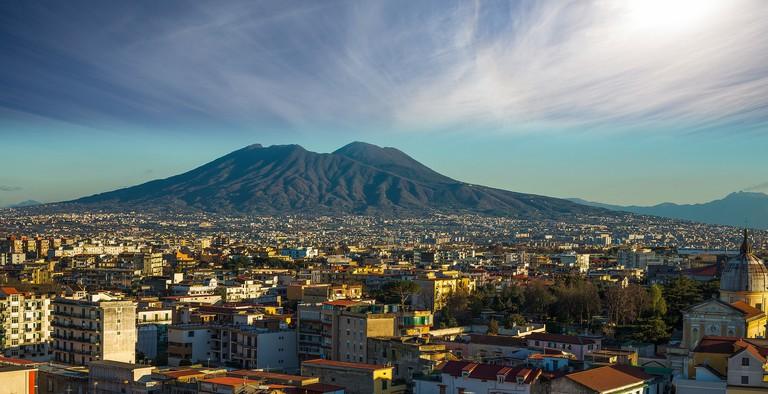 Naples skyline