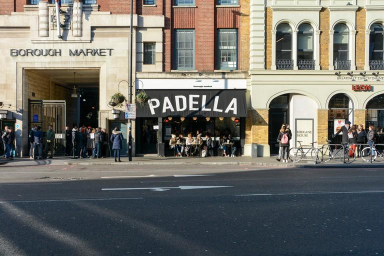 Padella Italian restaurant, Southwark Street