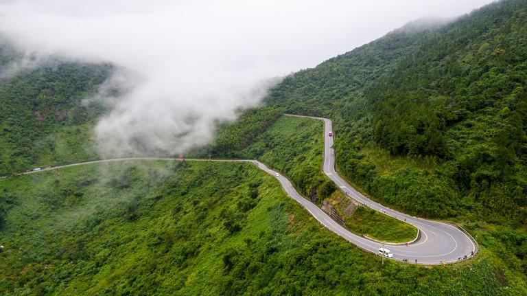 Hai Van Pass, Da Nang, Vietnam