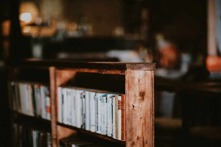 Edinburgh Books is full of second-hand and antiquarian books