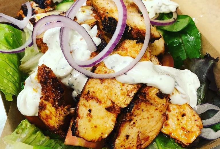 Salad at Bella Gina © Bella Gina