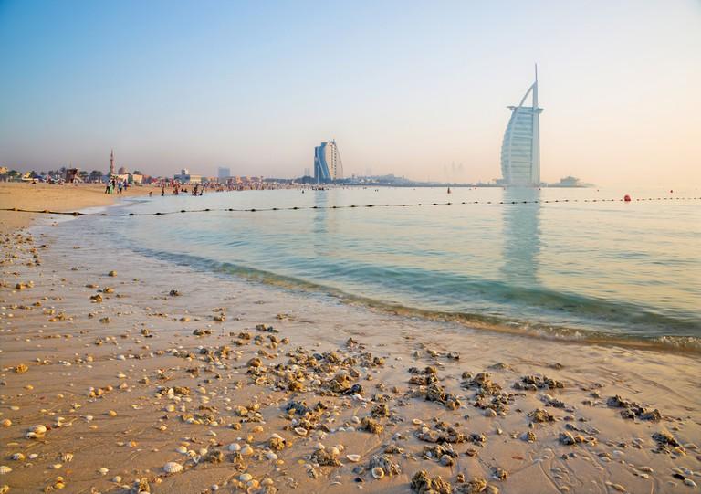 Jumeriah beach.