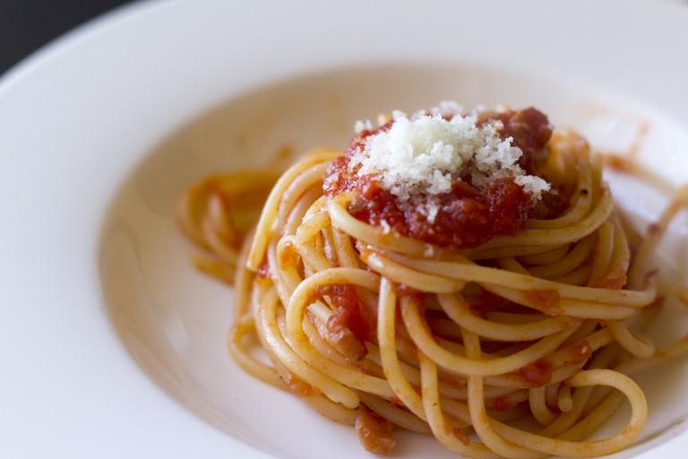 Spaghetti bolognese © Luca Nebuloni / Flickr