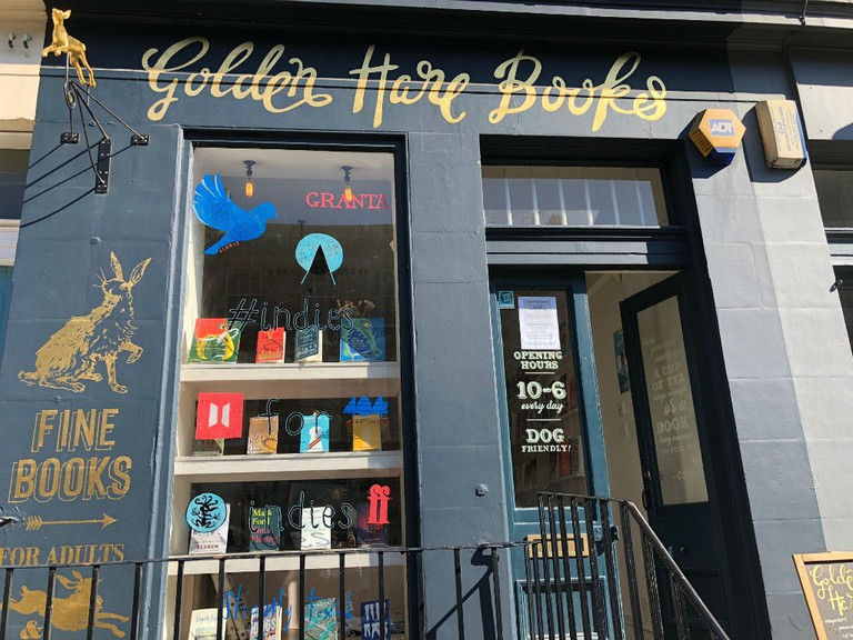Golden Hare Books in Edinburgh is a treat for bibliophiles